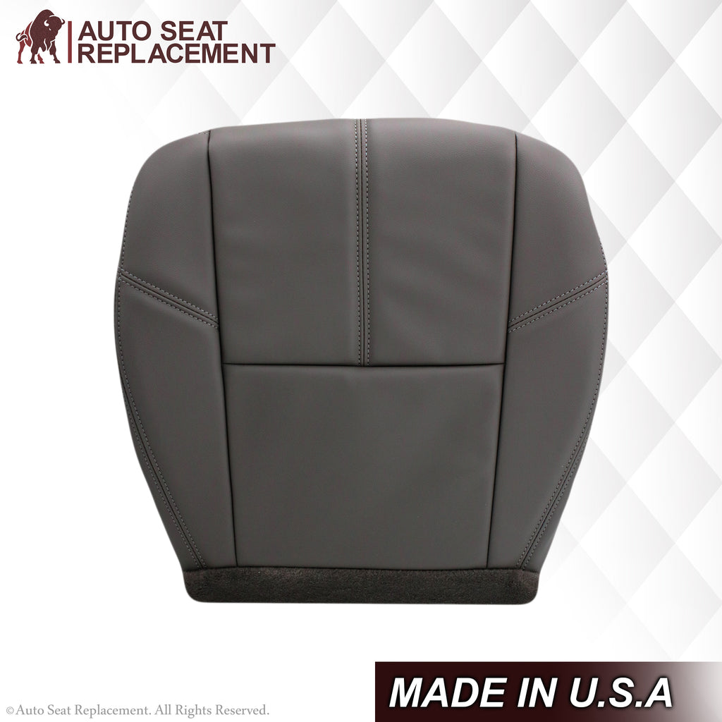2007-2014 Chevy Silverado & GMC Sierra Work Truck Seat Cover In Dark Titanium Gray: Choose From Variation