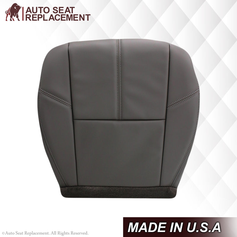 2007-2014 Chevy Silverado Work Truck Seat Cover In Dark Titanium Gray: Choose From Variation