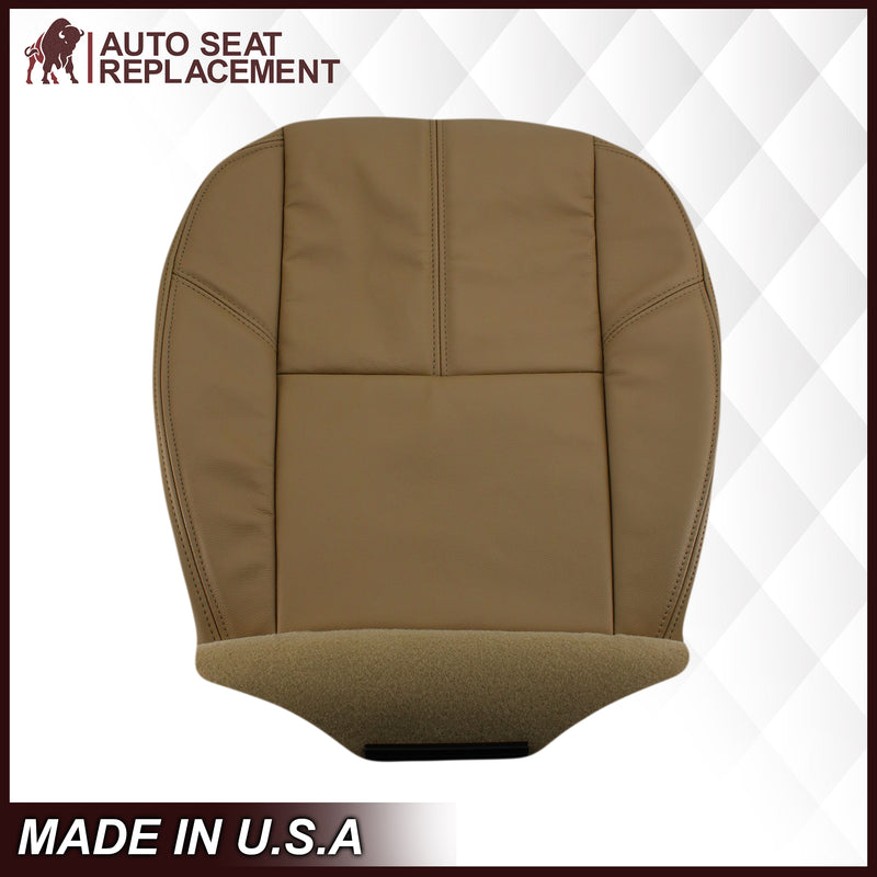 2007-2014 Chevy Tahoe/Suburban Seat Cover In Tan: Choose From Variation