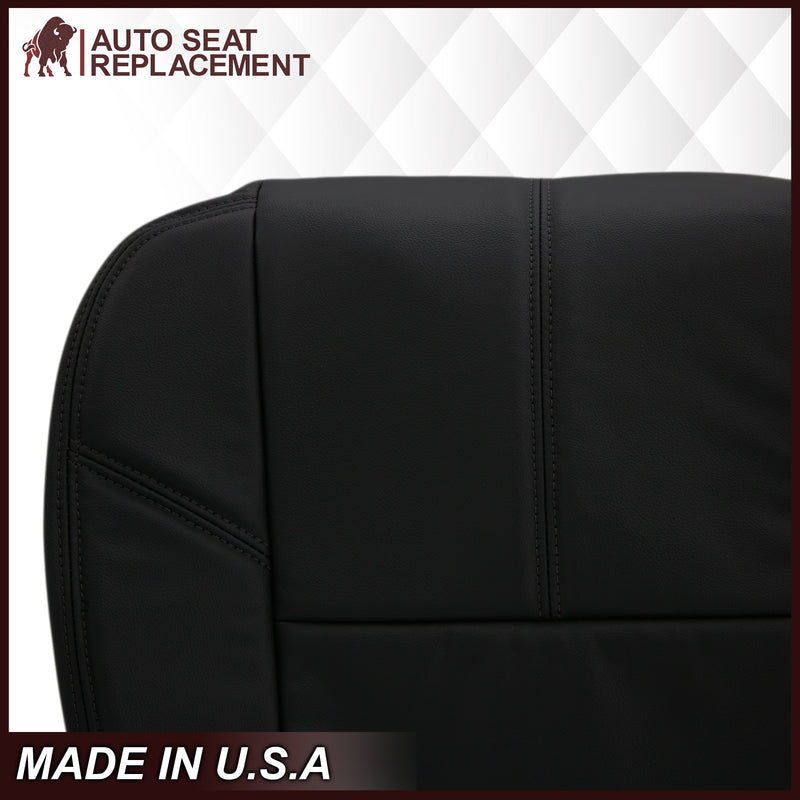 2007-2014 GMC Yukon/Sierra Seat Cover In Black: Choose From Variation