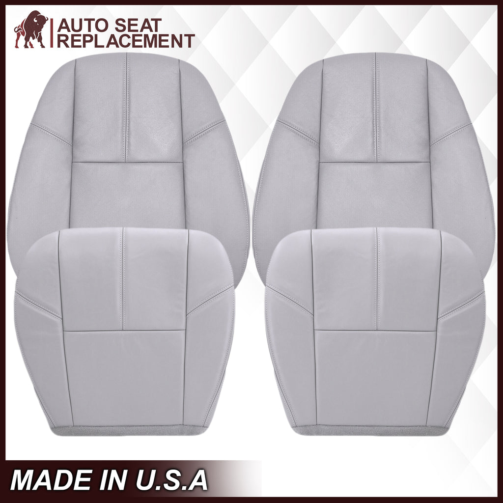 2007-2014 Chevy Tahoe/Suburban Seat Cover In Gray: Choose From Variation