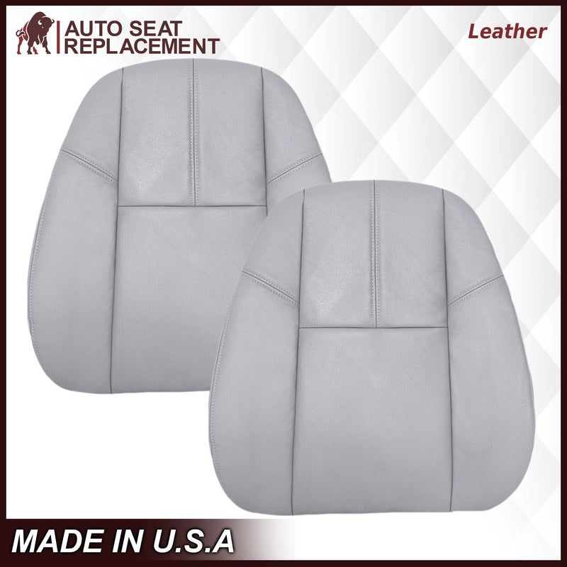 2007-2014 GMC Yukon/Sierra Seat Cover In Gray: Choose From Variation