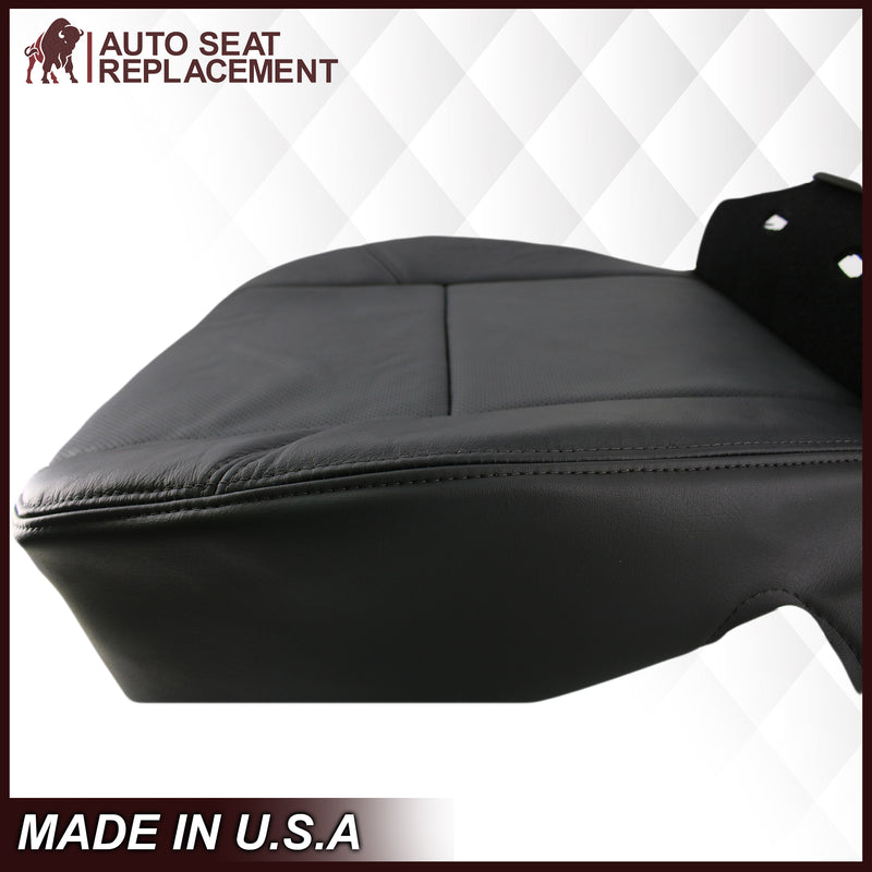 2009-2014 GMC Yukon Denali/Sierra Denali Seat Cover In PERFORATED Black: Choose From Variation