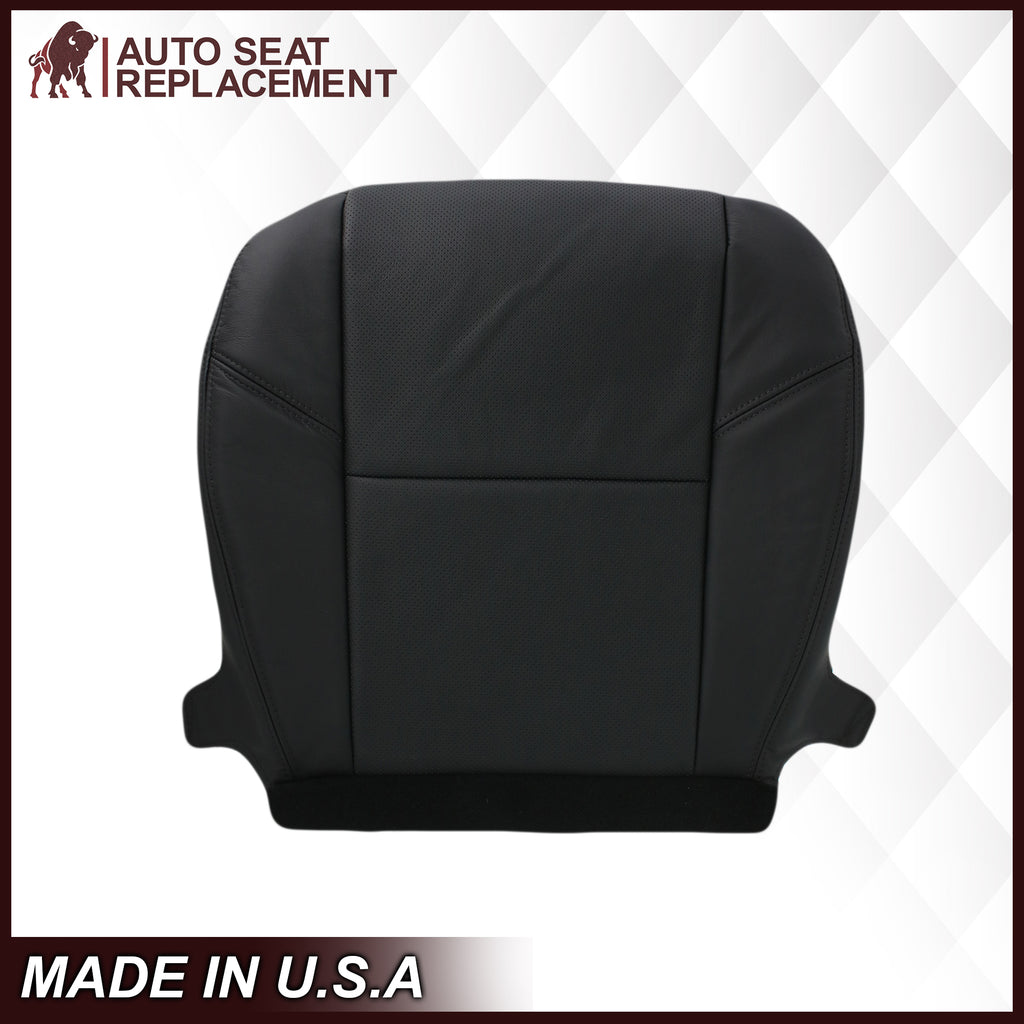 2007-2014 Cadillac Escalade Perforated Seat Cover in Black: Choose From Variation