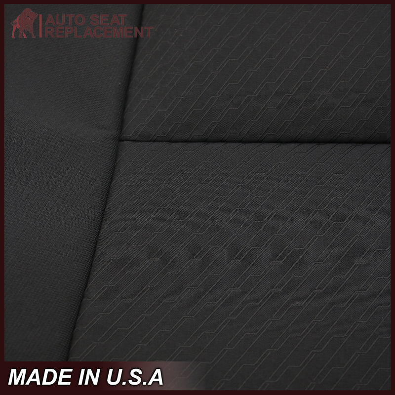 2007-2014 Gmc Sierra Cloth Seat Cover In Black: Choose From Variation