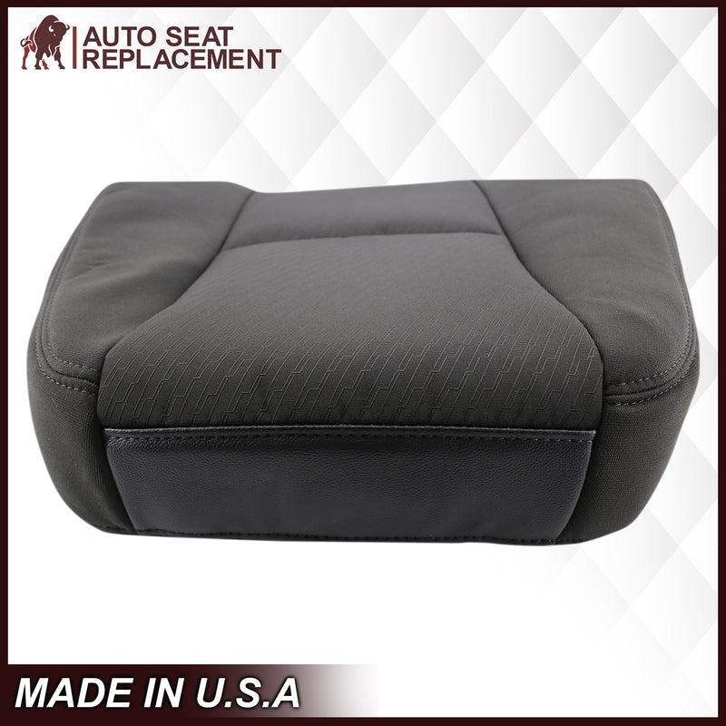 2007-2014 Chevy Silverado Cloth Seat Cover In Black: Choose From Variation
