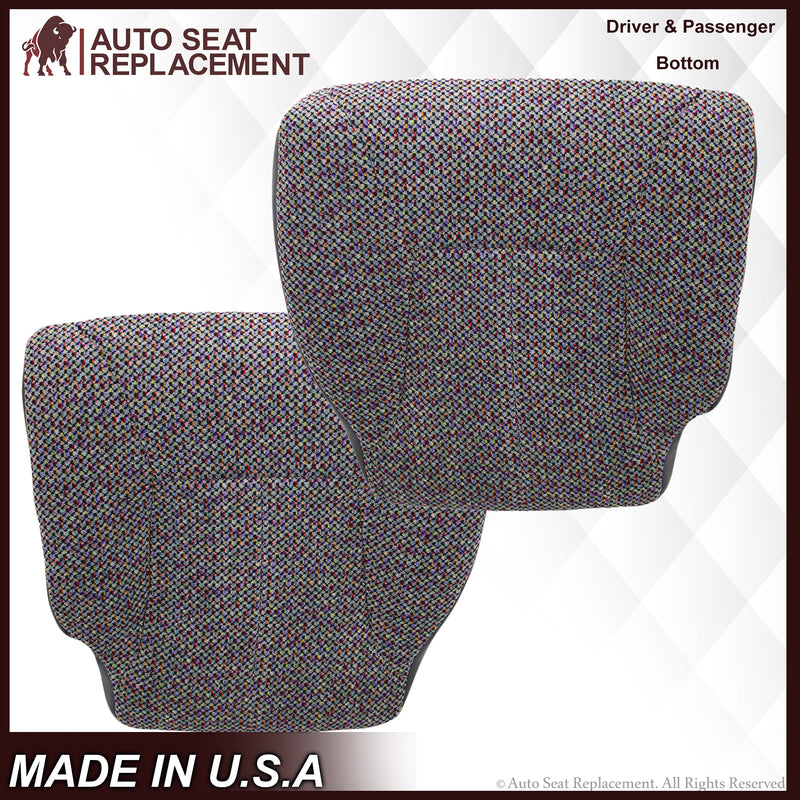 1998 1999 2000 2001 2002 Dodge Ram 2500 3500 SLT Laramie Seat Cover Gray Cloth AutoSeatReplacement
