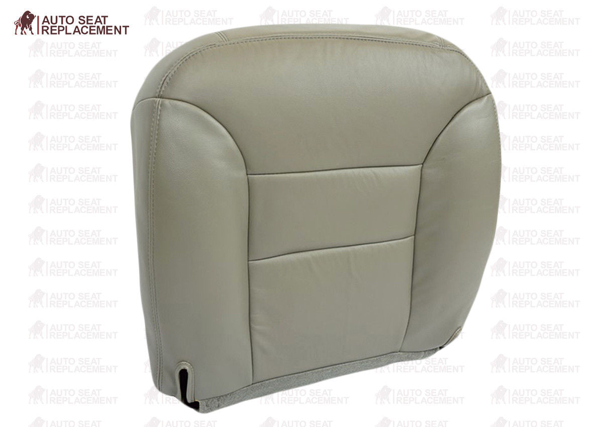 1997 1998 Chevy Tahoe LT LS Leather Seat Cover TAN Driver Bottom Replacement