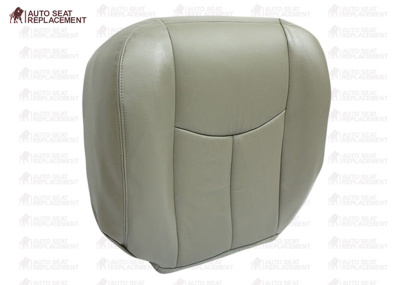 2003 2004 2005 2006 GMC Sierra & Yukon Denali Passenger Bottom Seat Cover Gray - Auto Seat Replacement