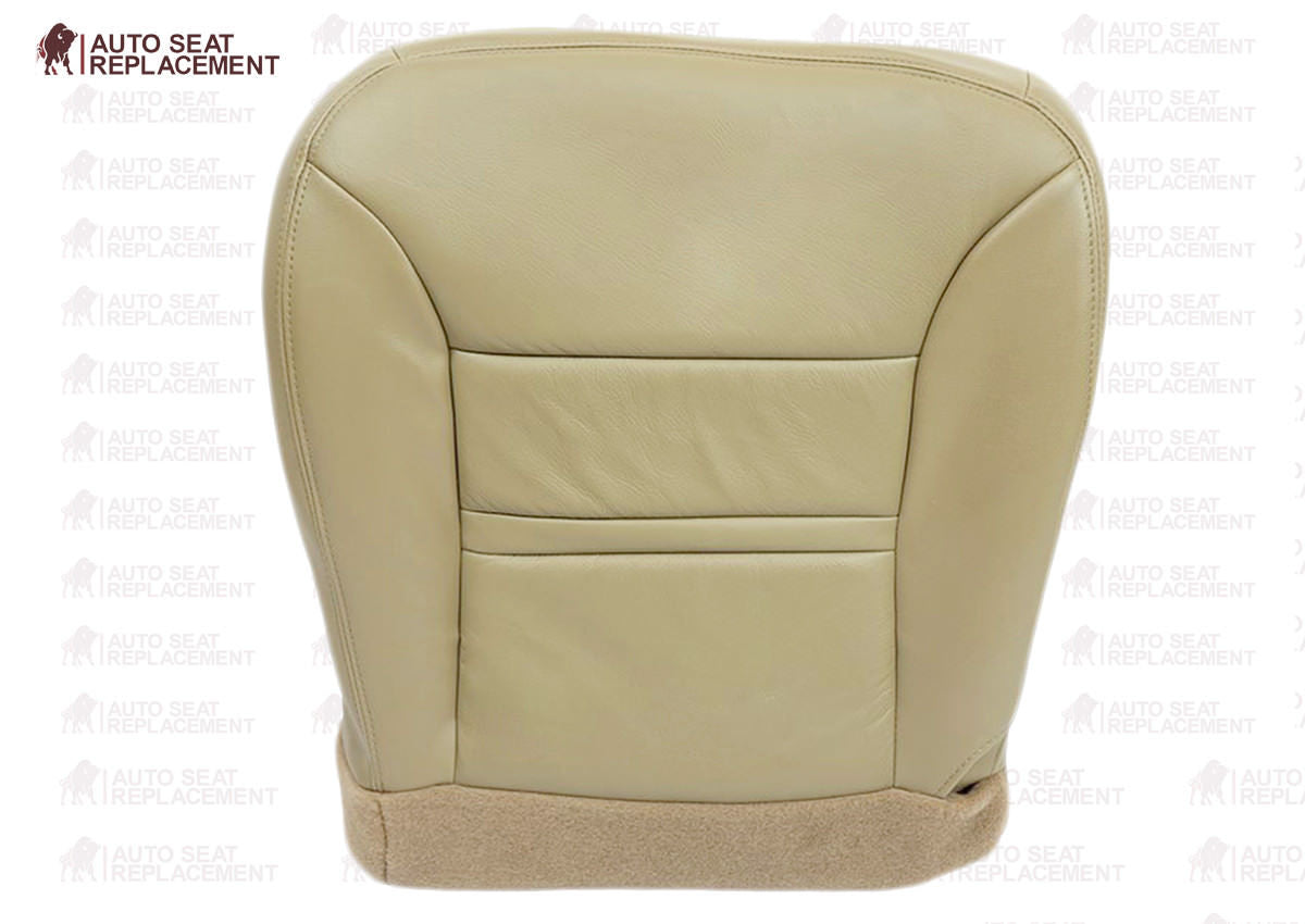 2000 2001 Ford Excursion Limited XLT Bottom Leather Seat Cover Replacement Tan