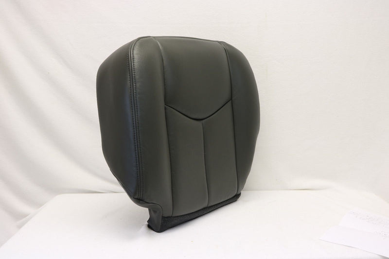 2003 2004 2005 2006 Chevy Silverado Duramax Driver Bottom Seat Cover Dark Gray - Auto Seat Replacement