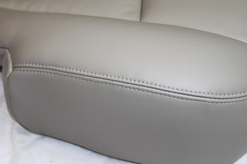 2003 2004 2005 2006 GMC Yukon Passenger Bottom Seat Cover Light Tan # 522 vinyl - Auto Seat Replacement