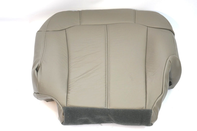 2000 2001 2002 Chevy Tahoe Suburban Driver Bottom Seat Cover Light Tan # 522-922 - Auto Seat Replacement
