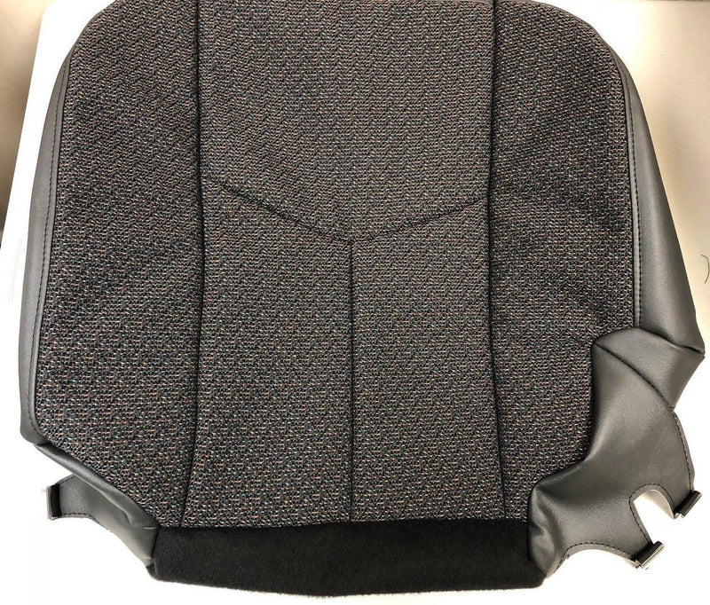 2003 2004 2005 2006 07 Chevy Silverado Driver Bottom Cloth Seat Cover Dark Gray - Auto Seat Replacement