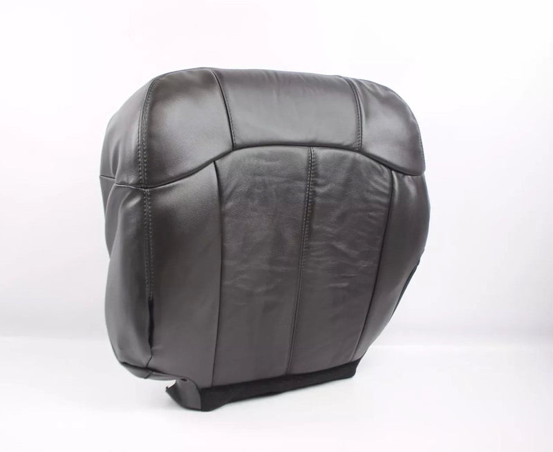 1999 2000 2001 2002 Chevy Silverado Seat Cover replacement  Dark Graphite Dark Gray 122 leather driver passenger LS LT 1500 2500