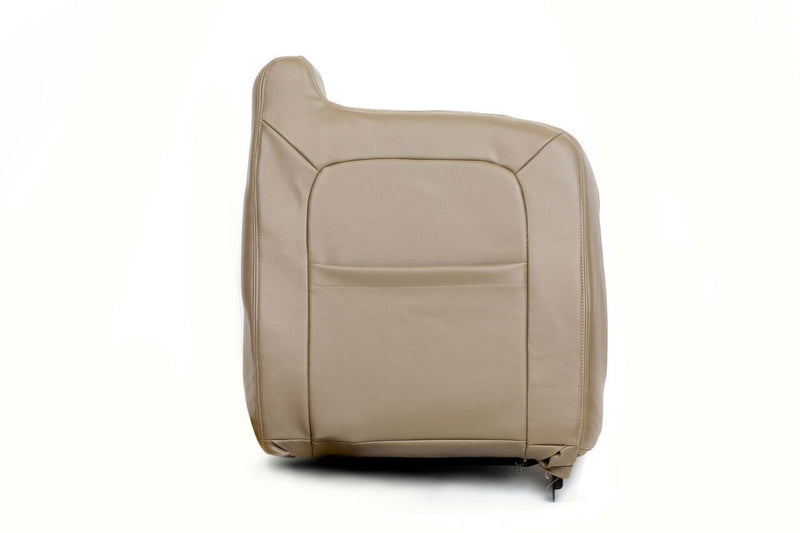 2003 2004 GMC Sierra 1500 2500 3500,HD Lean Back LEATHER Seat Cover TAN - Auto Seat Replacement