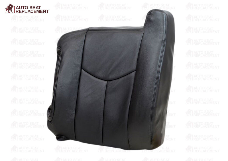 2003 2004 005 2006 Chevy Silverado Top-Lean back-Passenger Seat Cover Dark Gray - Auto Seat Replacement