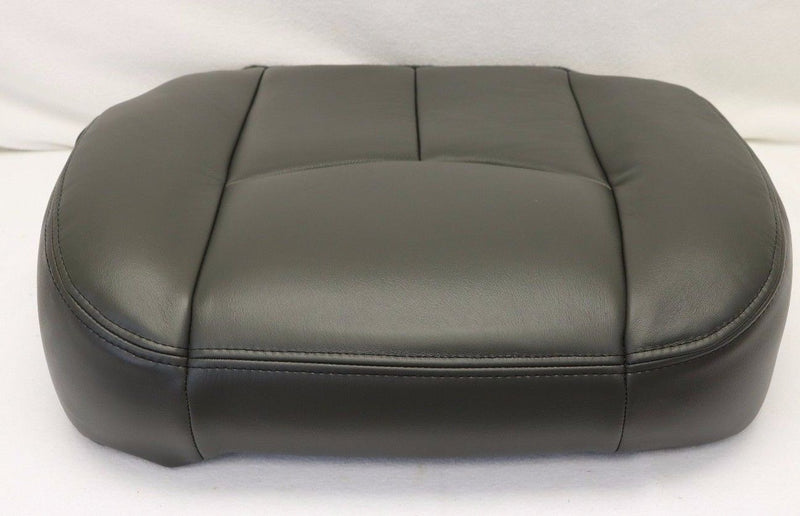 2003 2004 Chevy Avalanche Silverado Driver Bottom & Armrest Seat Cover Dark Gray - Auto Seat Replacement