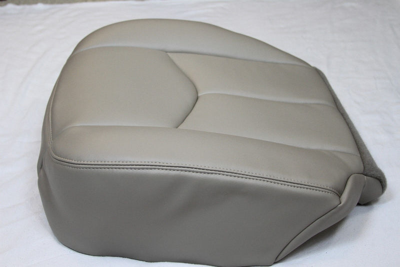 2003 2004 2005 2006 Chevy Tahoe Suburban Driver Synth Leather Seat Cover Tan#522 - Auto Seat Replacement