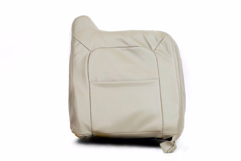 2005 2006  Chevy Tahoe Suburban Driver Bottom & Lean Back Seat Cover Tan Vinyl - Auto Seat Replacement