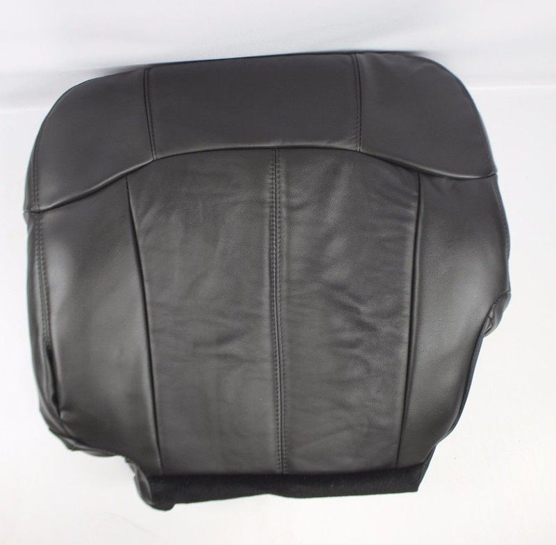 1999 2000 2001 2002 GMC Sierra leather Seat Cover Replacement Dark Graphite Dark Gray Auto Seat Replacement