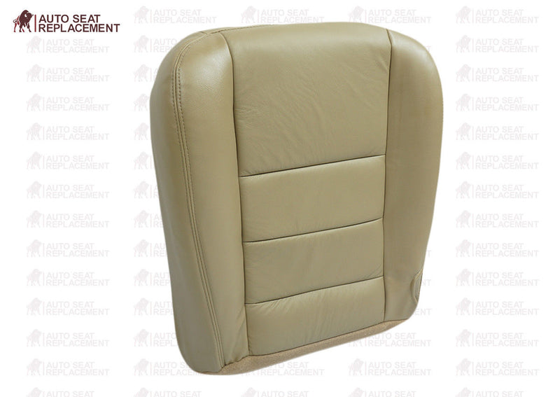 2002 2003 2004 2005 2006 2007 Ford F250 F350 Lariat XLT Diesel Bottom Seat Cover Replacement  Tan 4H Auto Seat Replacement