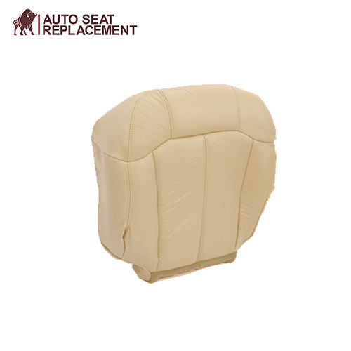 2000 2001 2002 GMC Yukon Passenger Complete Package Seat Cover Light Tan 522-922 - Auto Seat Replacement