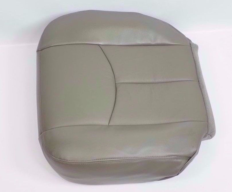 2003 2004 2005 2006 GMC Sierra Denali Driver Side Bottom Seat Cover Gray #922 - Auto Seat Replacement