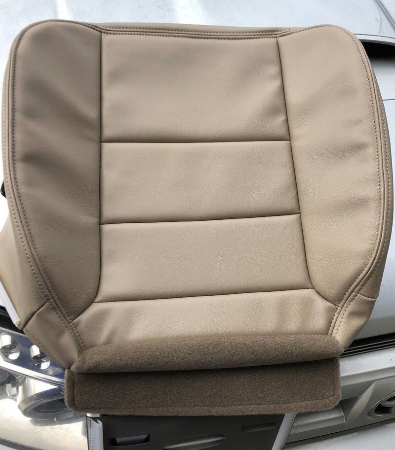 2005 2006 2007 Ford F250 F350 Lariat Extended Cab Driver Bottom Seat Cover Tan 4H  Auto Seat Replacement