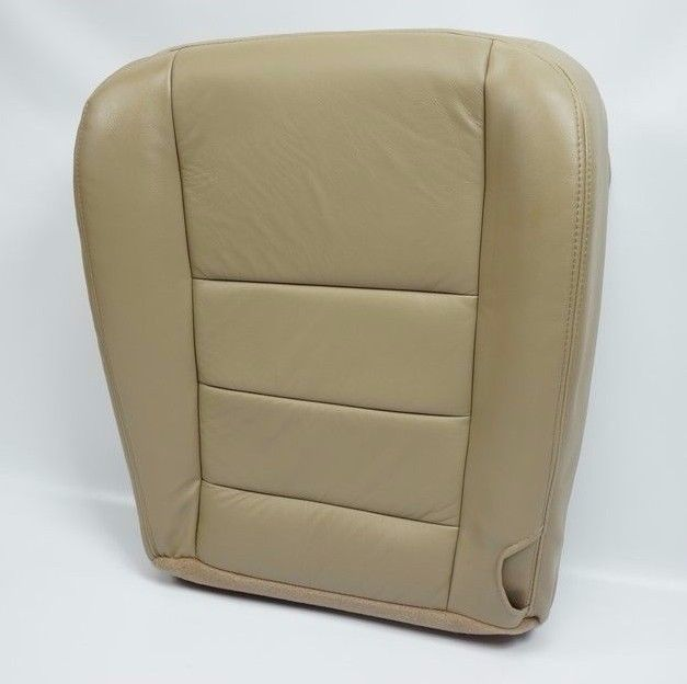 2002 2003 004 05 06 2007 Ford F250 F-350  Lariat Passenger Bottom Seat Cover Tan - Auto Seat Replacement