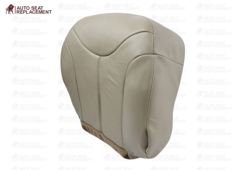 2000 2001 2002 GMC Yukon XL-1500-2500-SLT Driver-Passenger Bottom Seat Cover Tan - Auto Seat Replacement