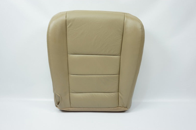 2002 2003 Ford F250 F350 Lariat XL XLT FX4 Driver Bottom Leather Seat Cover TAN - Auto Seat Replacement
