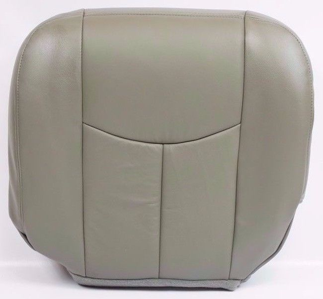 2003 2004 2005 2006 Chevy Silverado Driver Bottom Seat Cover pewter gray-922 - Auto Seat Replacement