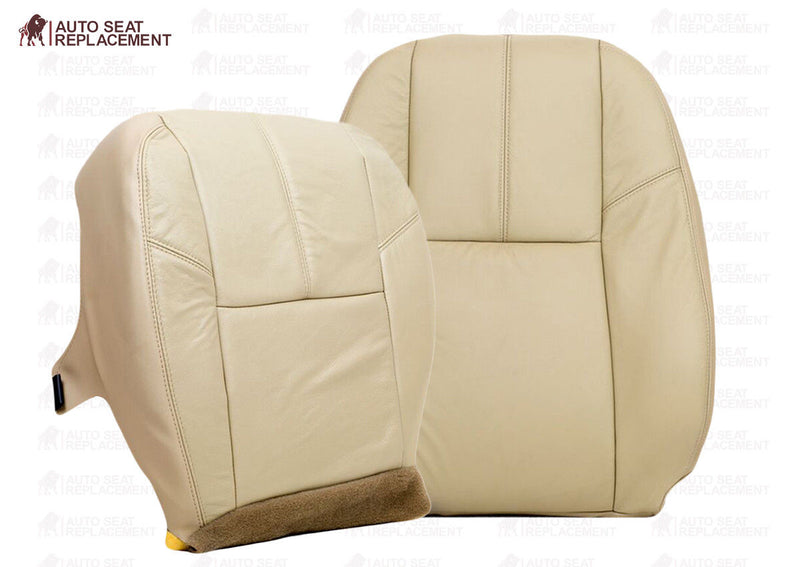 2008 2009 2010 2011 012 Chevy Silverado 1500 2500 3500 Bottom Leather Seat Cover - Auto Seat Replacement