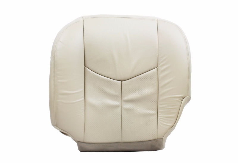 2006 2005 2004 -2003 Cadillac Escalade Driver Side Bottom Leather Seat Cover Tan - Auto Seat Replacement