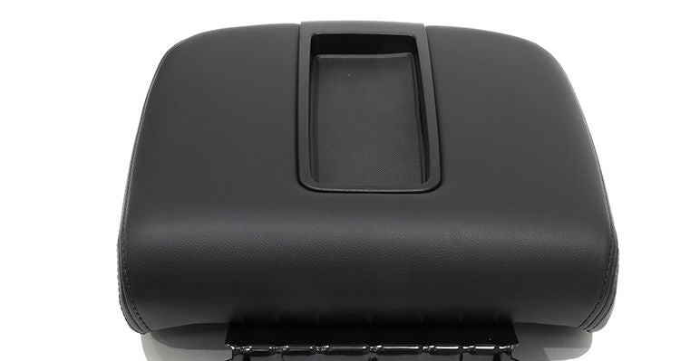 2007-2014 Chevy Silverado 3500,HD LT LS Z71 LTZ Center Console Lid Cover Black - Auto Seat Replacement