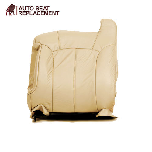 2000 2001 2002 GMC Yukon Driver Complete Package Upholster Seat Cover Light Tan - Auto Seat Replacement