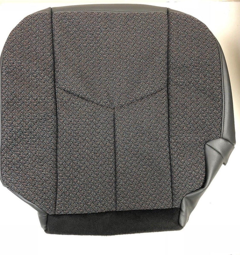2003 2004 2005 2006 2007 Chevy Silverado Driver Bottom Cloth Seat Cover Replacement Dark Gray 69D 69C Auto Seat Replacement