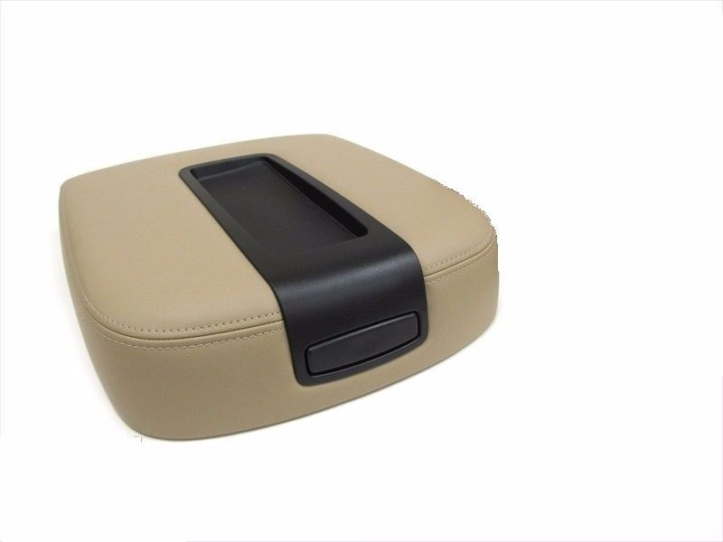 2007-2014 Chevy Tahoe LT LS LTZ Z71 -Center Console Lid Replacement Cover TAN - Auto Seat Replacement