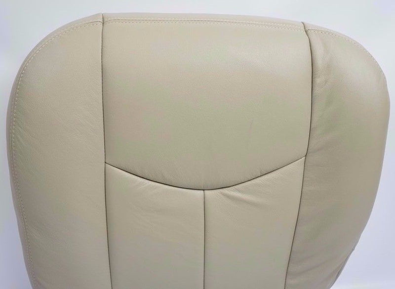 2003 2004 2005 2006 Chevy Tahoe & Yukon Bottom Replacement Seat Cover Tan vinyl - Auto Seat Replacement