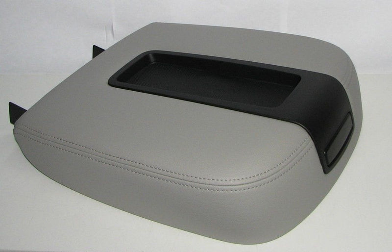 07 08 09 2010 Chevy Avalanche-Center Console Storage Compartment Lid Cover Gray - Auto Seat Replacement