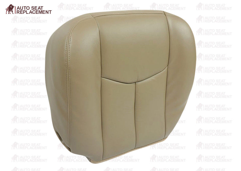 2003 To 2006 Chevy Silverado&GMC Sierra Upholstery Top Bottom Leather Seat cover - Auto Seat Replacement