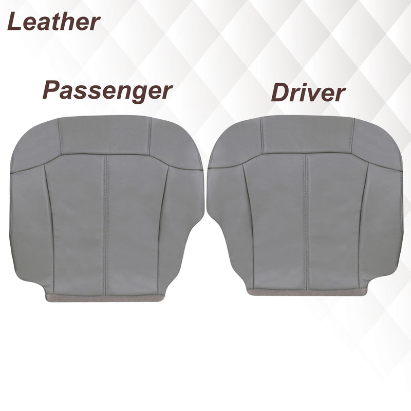 1999-2002 Chevy Silverado Seat Cover in Light Gray: Choose From Variations