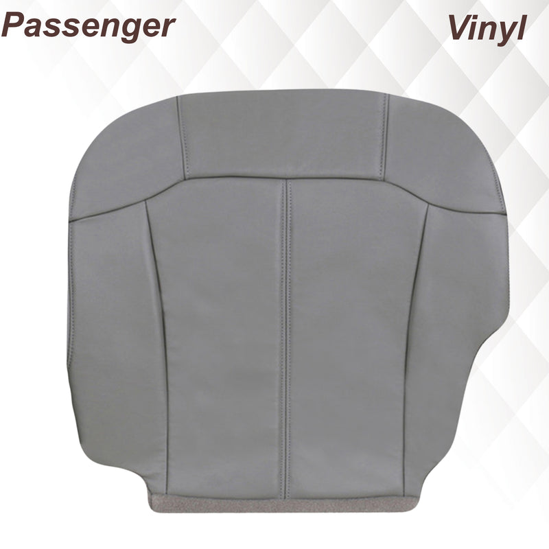2000-2002 Chevy Tahoe/Suburban Seat Cover in Light Gray: Choose From Variations