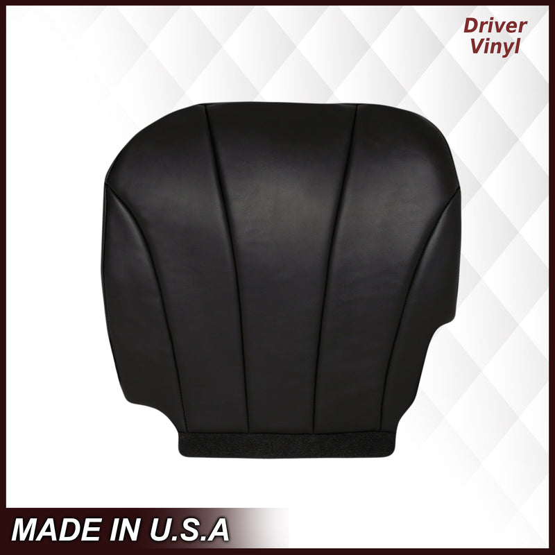1999 2000 2001 2002 GMC Sierra Work Truck vinyl Seat Cover Replacement in Dark Graphite Gray Auto Seat Replacement