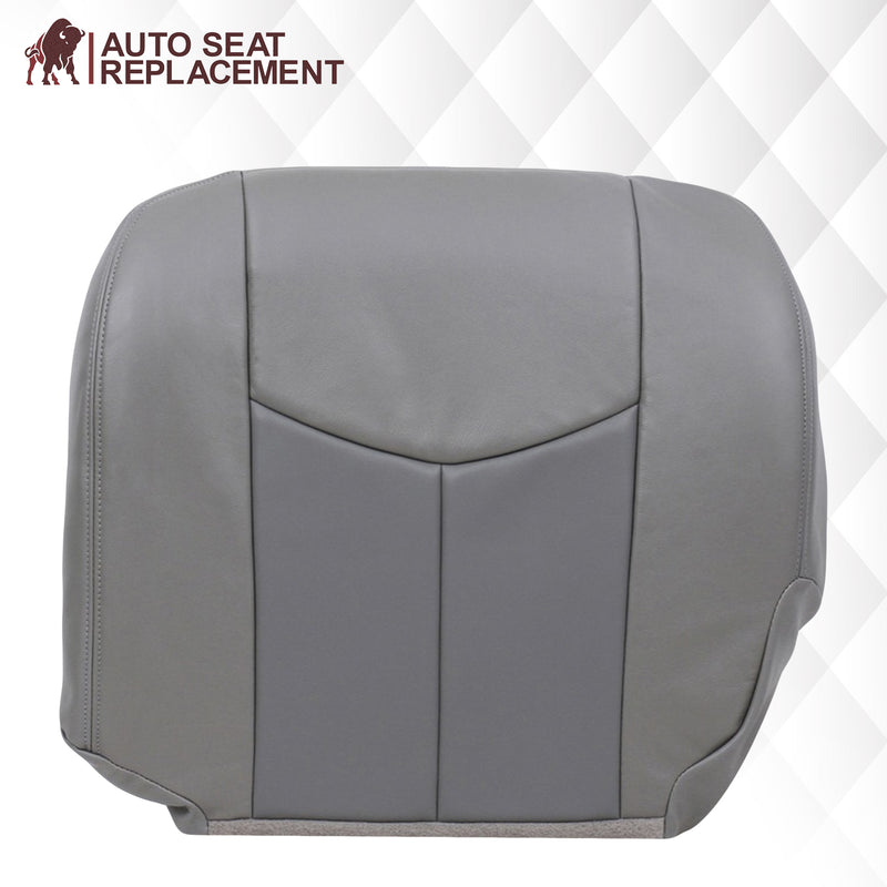 2003-2006 GMC Sierra & Yukon Denali Seat Cover in 2 Tone Gray: Choose From Variants