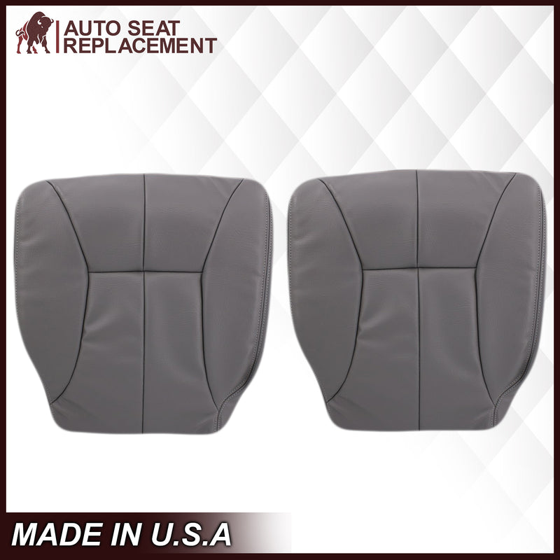 1998-2002 Dodge Ram 1500 2500 3500 Seat Cover in Mist Gray: Choose From Variation