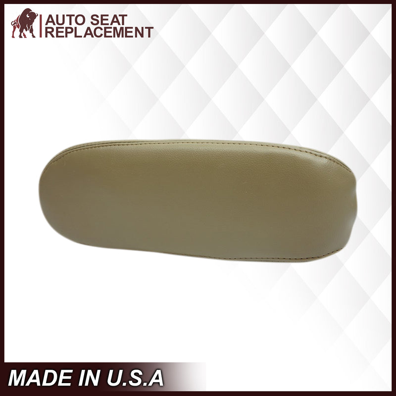 2002-2007 Ford F250 F350 Lariat Seat Cover in Tan: Choose Leather or Vinyl