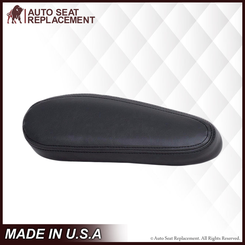 1999-2002 Chevy Silverado GMC Sierra Armrest Cover in Dark Graphite