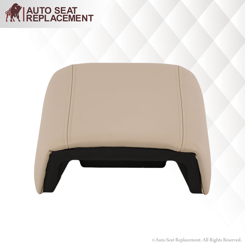 2004 Ford F150 Lariat Console Cover in Light Parchment Tan
